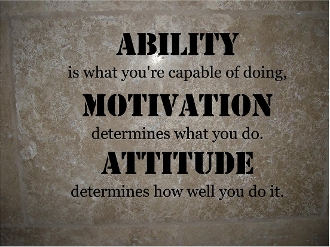 Ability...Motivation...Habit